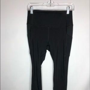 Gapfit compression sculpt full leggings pockets M